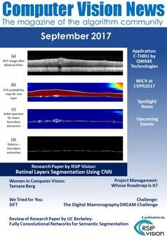 Computer Vision News - September 2017