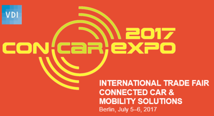 ConCarExpo 2017<br>5-6 July in Berlin, Germany