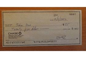 OCR for checks