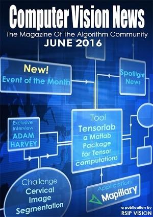 Computer Vision News - June 2016