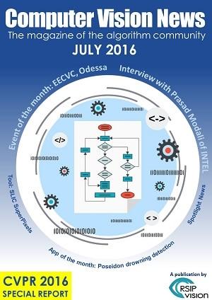 Computer Vision News - July 2016