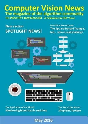 Computer Vision News - May 2016
