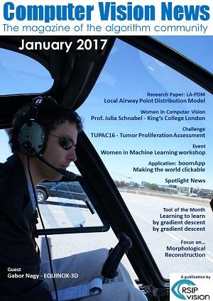 Computer Vision News - January 2017