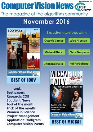 Computer Vision News - November 2016