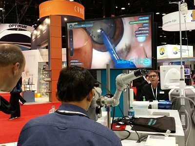 AAO - Training platform for surgical procedure