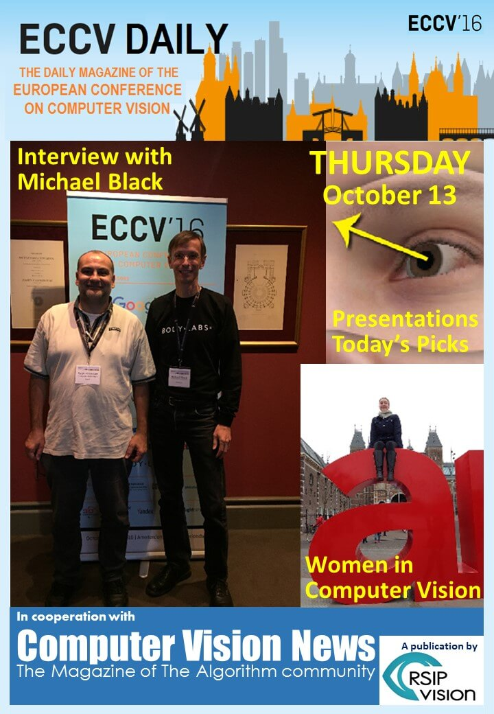 ECCV Daily - Thursday