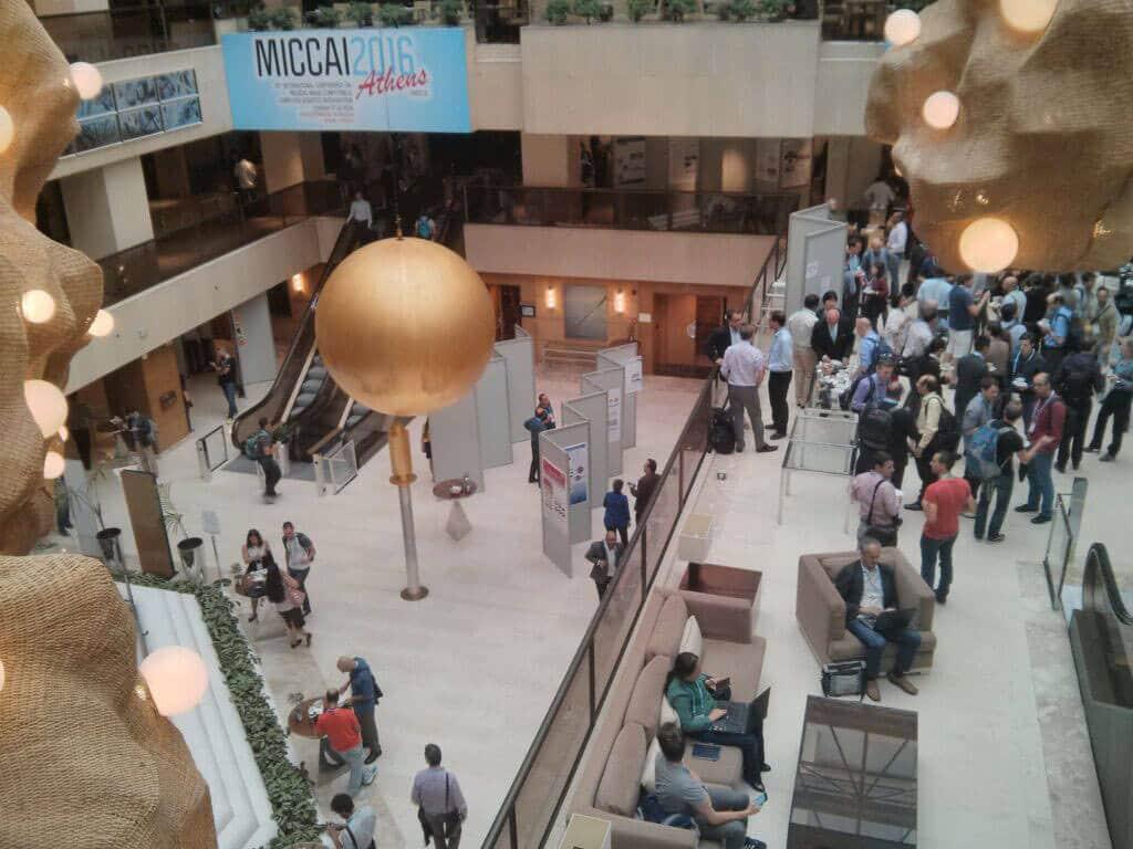 MICCAI hall