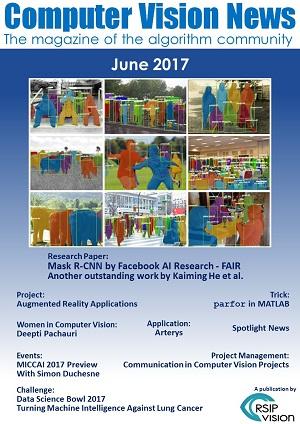 Computer Vision News - June 2017