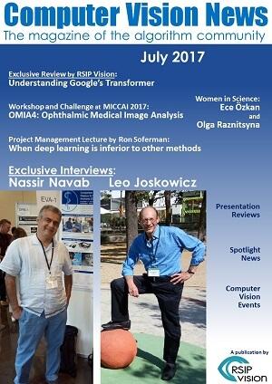 Computer Vision News - July 2017