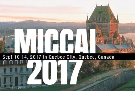 MICCAI 2017<br>10-14 September in Quebec City, Canada