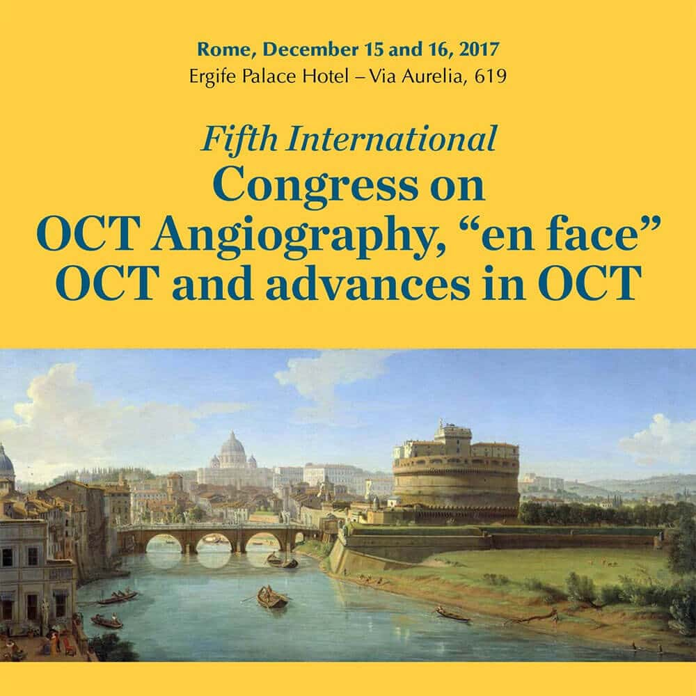 OCT Angiography<br>15-16 December in Rome, Italy