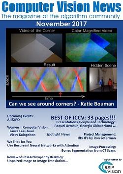 Computer Vision News - November 2017