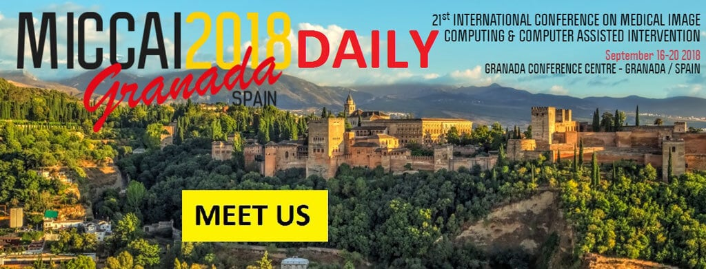 MICCAI 2018 &#8211; 16-20 September<br>in Granada, Spain