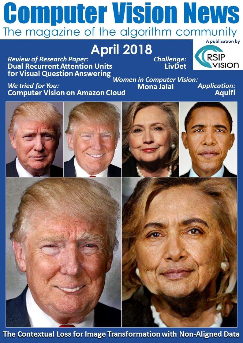 Computer Vision News - April 2018