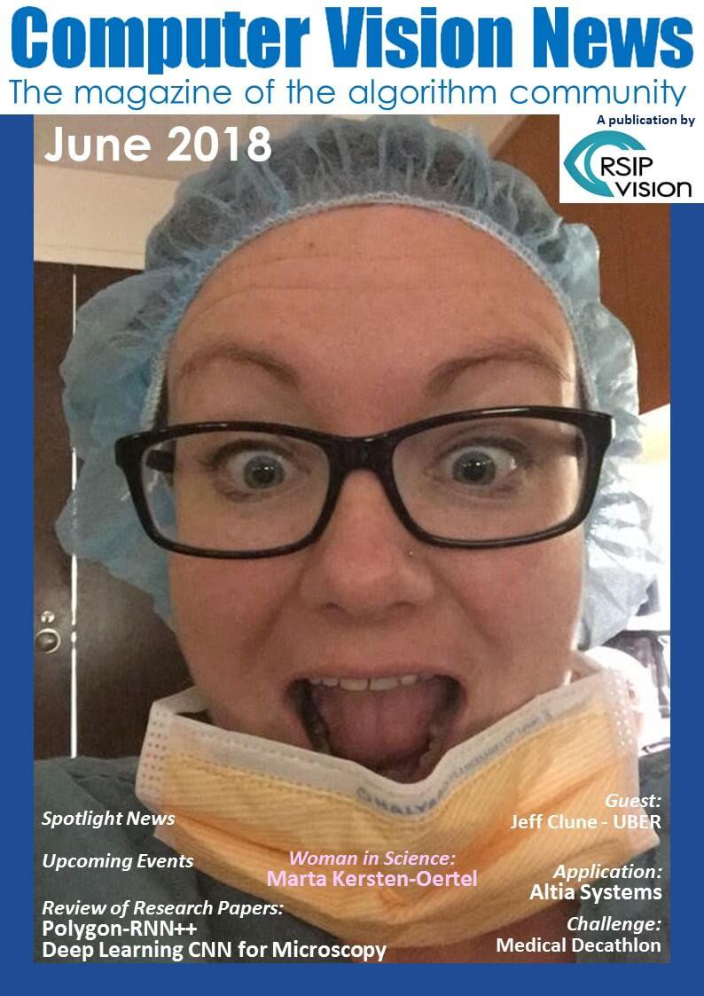 Computer Vision News - June 2018