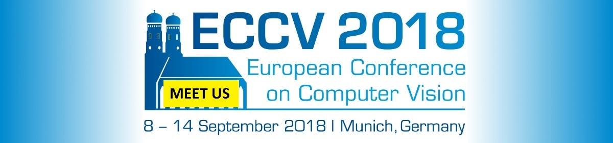 ECCV 2018 &#8211; 8-14 September<br>in Munich, Germany