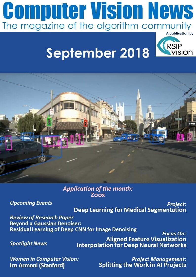 Computer Vision News - September 2018