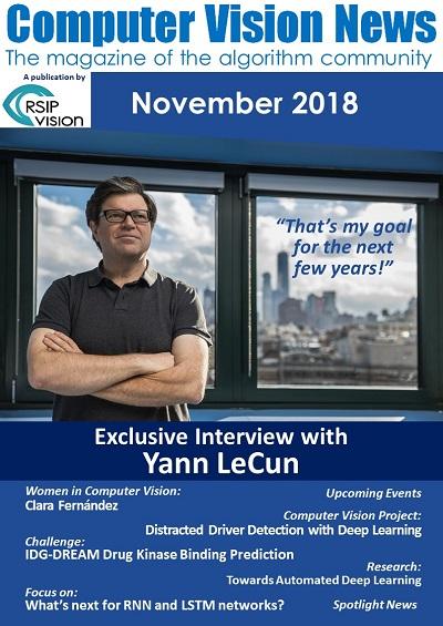 Computer Vision News - November 2018