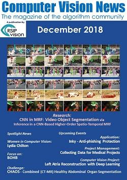 Computer Vision News - December 2018