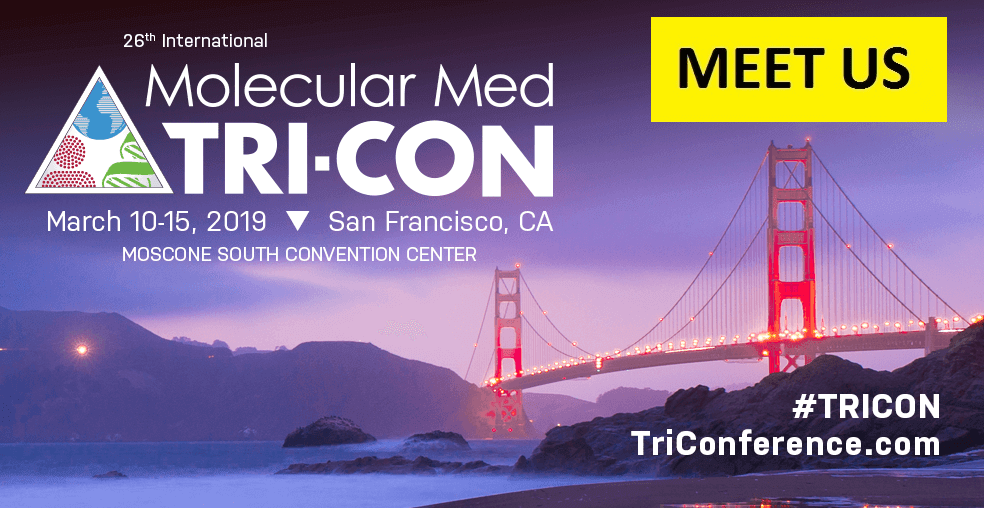 TRI-CON 2019<br>10-15 March in S.Francisco, CA