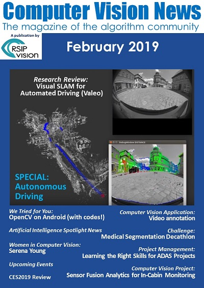 Computer Vision News - February 2019