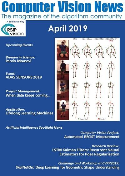 Computer Vision News - April 2019