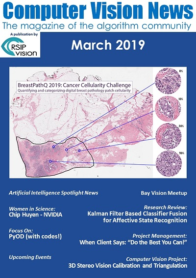 Computer Vision News - March 2019