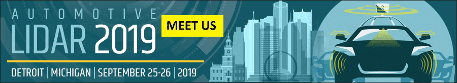 Automotive LIDAR 2019:<br>September 25-26 in Detroit, MI