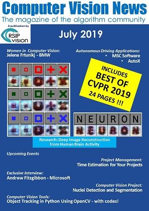 Computer Vision News - July 2019