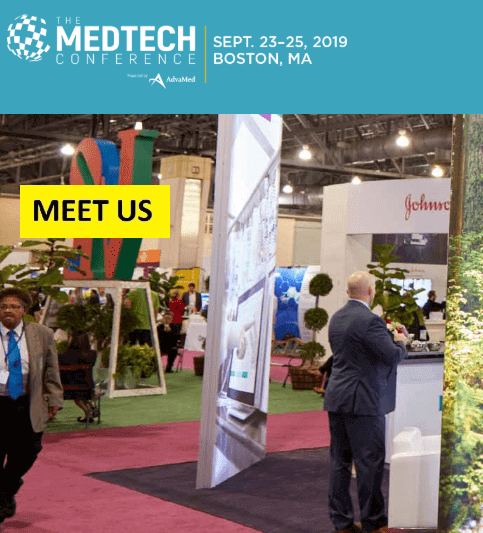 The MedTech Conference 2019:<br>September 23-25 in Boston, MA