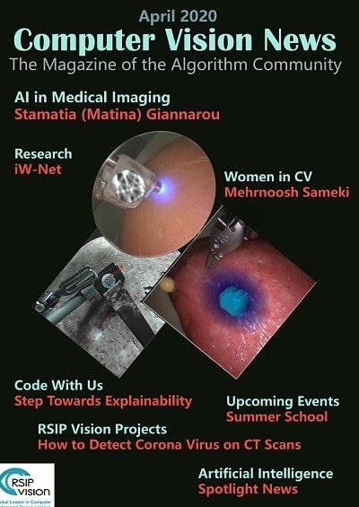 Computer Vision News - April 2020